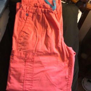 Cargo scrub. Medium Couture 3/$20